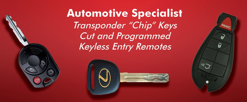 locksmith transponder key
